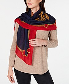 Lorena Wool Oblong Scarf