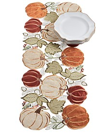 Elrene Harvest Wreath Centerpiece Runner