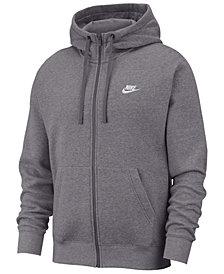 Nike Men's Club Fleece Full-Zip Hoodie