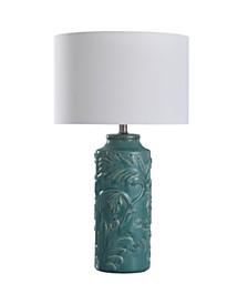 "Stylecraft Mirfield 25"" Traditional Ceramic Body Table Lamp"