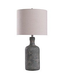 Norport 30in Concrete Base Table Lamp