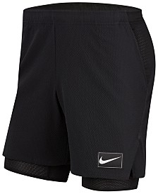 Nike Men's Court Flex Ace 2-in-1 Dri-FIT Tennis Shorts