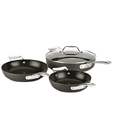 Essentials Nonstick 4-Pc. Skillet Set