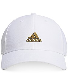 adidas Men's Stadium Stretch-Fit Metal-Logo Hat
