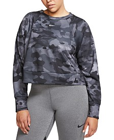 Nike Plus Size Dri-FIT Camo Training Top