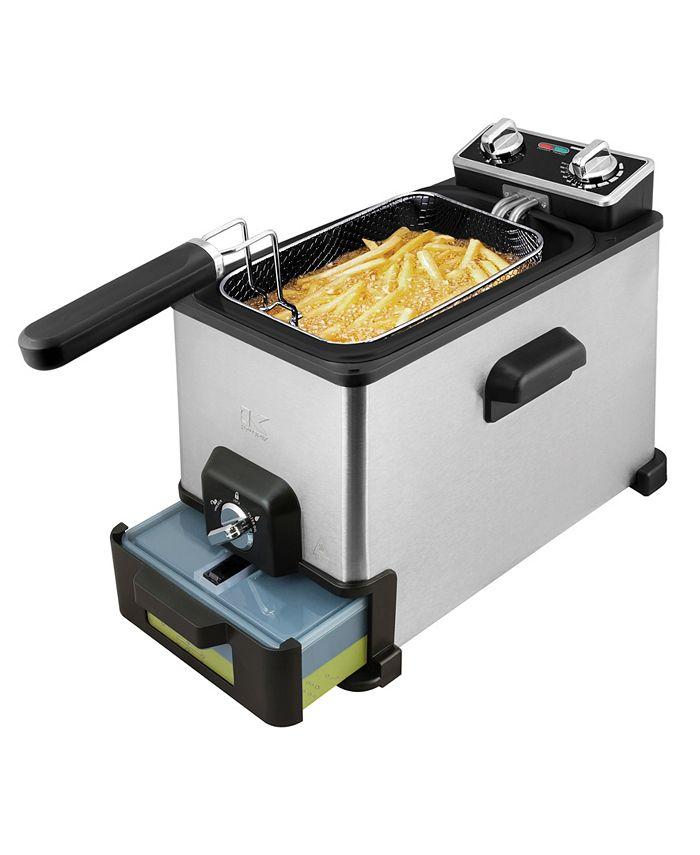 Kalorik - 4.0-L. XL Deep Fryer with Oil filtration system