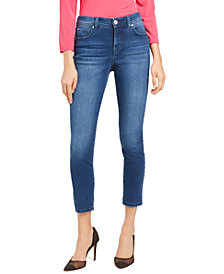 INC Skinny Ankle Jeans with Tummy Control, Created for Macy's