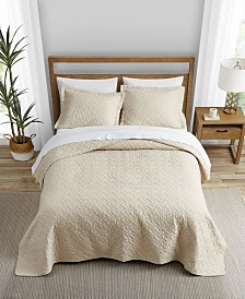 Tommy Bahama Solid Dune Quilt Set, Twin
