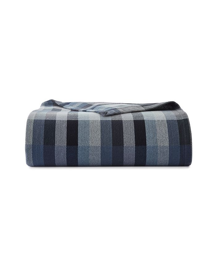 Eddie Bauer - Windsor Stripe Blanket, Twin