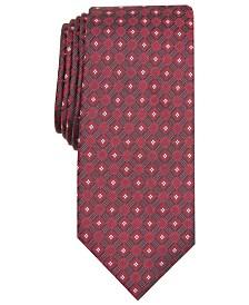 Alfani Men's Slim Geo Tie, Created for Macy's