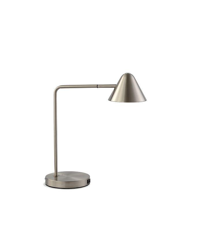 NOVA of California - Cove Table Lamp Satin Nickel