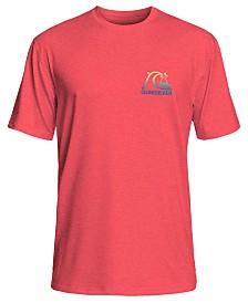 de577f46a7 Quiksilver Men's Heritage Surf Logo Graphic Rash Guard