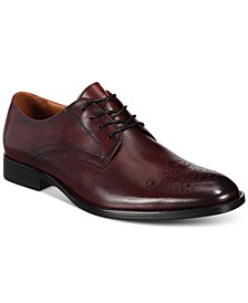 Men's Leather Darwin Lace-Up Oxfords, Created for Macy's