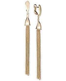 Tassel Drop Earrings in 14k Gold-Plated Sterling Silver