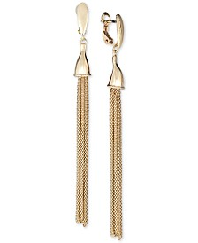 Tassel Drop Earrings in 14k Gold-Plated Sterling Silver