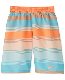 "Nike Big Boys 6:1 Linen Breaker 8"" Volley Swim Trunks"
