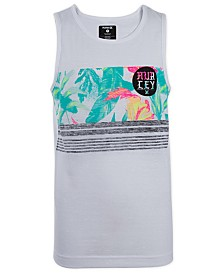 Hurley Big Boys Flipside Blocked Tank