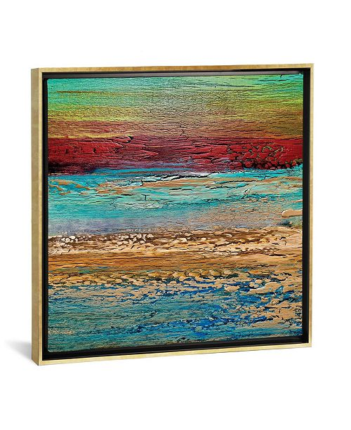 "iCanvas Coastal I by Alicia Dunn Gallery-Wrapped Canvas Print - 26"" x 26"" x 0.75"""