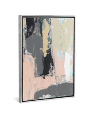 """Pink-A-Boo Iii by Jennifer Goldberger Gallery-Wrapped Canvas Print - 26"""" x 18"""" x 0.75"""""""