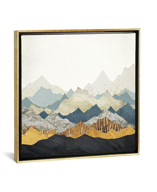 """iCanvas Distant Peaks by Spacefrog Designs Gallery-Wrapped Canvas Print - 18"""" x 18"""" x 0.75"""""""