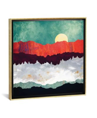 """Spring Moon by Spacefrog Designs Gallery-Wrapped Canvas Print - 37"""" x 37"""" x 0.75"""""""