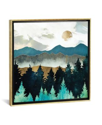 """Forest Mist by Spacefrog Designs Gallery-Wrapped Canvas Print - 37"""" x 37"""" x 0.75"""""""