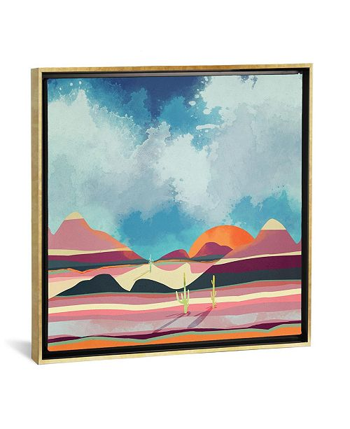 "iCanvas ""Pink Desert Glow"" by Spacefrog Designs Gallery-Wrapped Canvas Print"