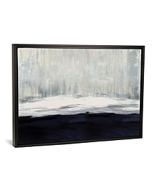 """White on Blue by Taylor Hamilton Gallery-Wrapped Canvas Print - 26"""" x 40"""" x 0.75"""""""