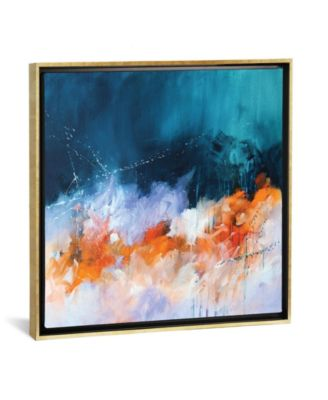 """The Beginning and The End by Sana Jamlaney Gallery-Wrapped Canvas Print - 37"""" x 37"""" x 0.75"""""""