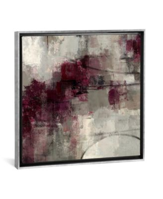 "Stone Gardens Ii by Silvia Vassileva Gallery-Wrapped Canvas Print - 37"" x 37"" x 0.75"""