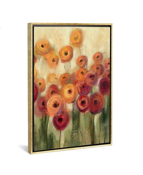 "iCanvas Ranunculi Field Iii by Silvia Vassileva Gallery-Wrapped Canvas Print - 40"" x 26"" x 0.75"""