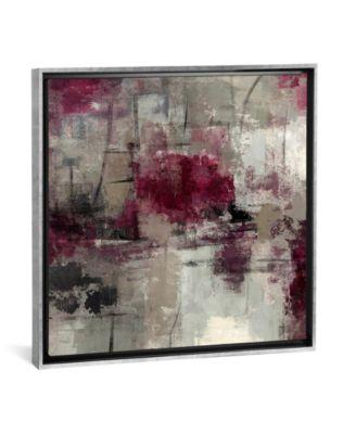 "Stone Gardens Iii by Silvia Vassileva Gallery-Wrapped Canvas Print - 26"" x 26"" x 0.75"""