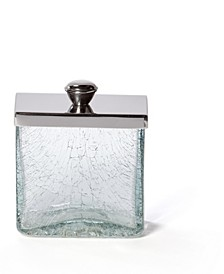 Crackle Shiny Canister