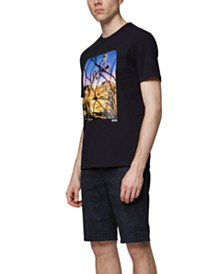 BOSS Men's Photographic Print T-Shirt