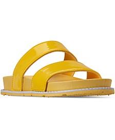 Big Girls Anna Slide Sandals from Finish Line