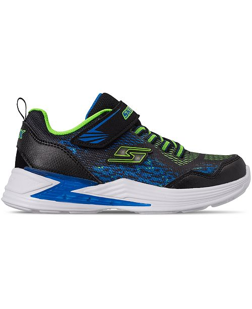 Little Boys' S Lights: Erupters III Derlo Light Up Casual Sneakers from Finish Line