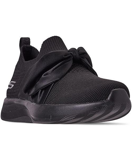 Skechers Women's BOBS Sport Squad 2 - Bow Beauty Casual Athletic Sneakers from Finish Line
