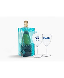 Blue Ice Bag - Clear Eye See You Wine Duo