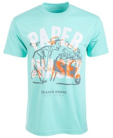 Reason Men's Paper Chaser Graphic T-Shirt