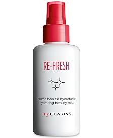 My Clarins Re-Fresh Hydrating Beauty Mist, 3.4 oz.