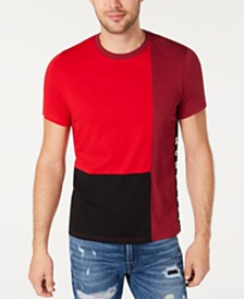 GUESS Men's Colorblocked T-Shirt