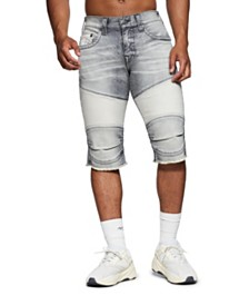 True Religion Men's Geno Moto Shorts
