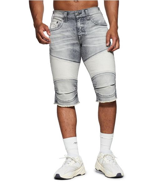 True Religion Men's Geno Moto Shorts