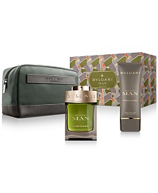 BVLGARI Men's 3-Pc. Man Wood Essence Eau de Parfum Gift Set, Created for Macy's