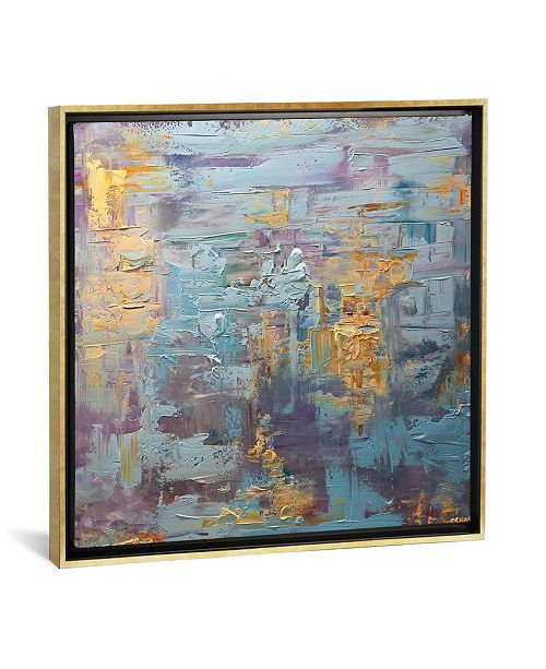 """iCanvas The Moon by Osnat Tzadok Gallery-Wrapped Canvas Print - 26"""" x 26"""" x 0.75"""""""
