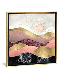 """iCanvas Blush Sun by Spacefrog Designs Gallery-Wrapped Canvas Print - 18"""" x 18"""" x 0.75"""""""