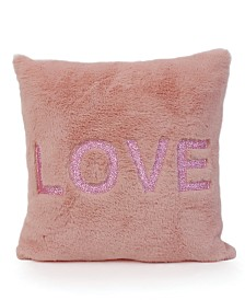 Love Faux Fur Pillow