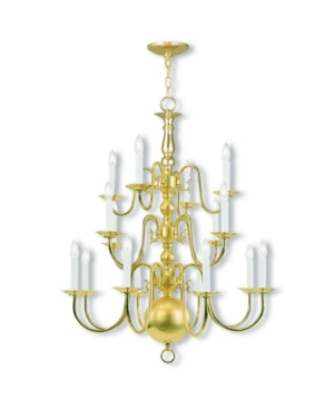 Livex Williamsburgh 16-Light Chandelier