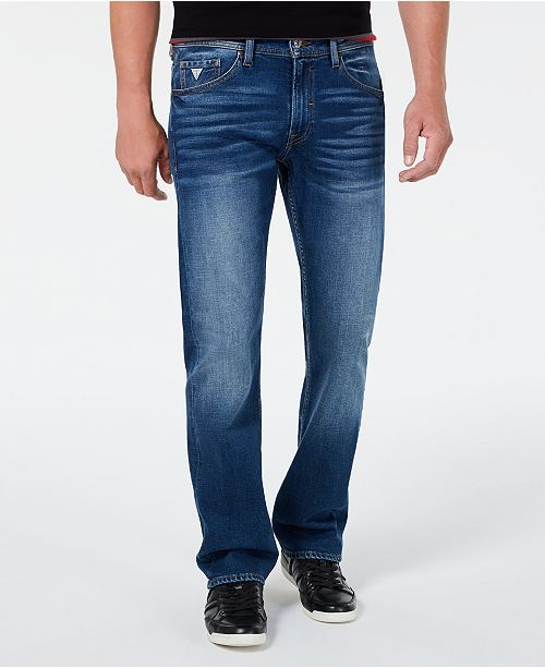 GUESS Men's Harmon Straight-Fit Jeans