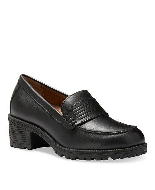 Eastland Shoe Eastland Women's Newbury Block Heel Loafers